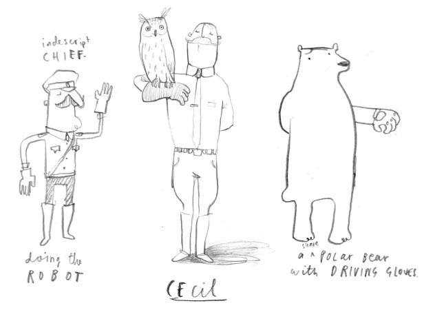 Character Development Sheet Cecil & Friends