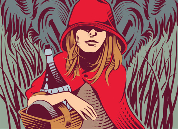 Little Red Riding Hood / Grimm's Tales