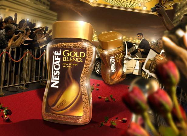 New Label Launch Nescafe Gold / Dynamo