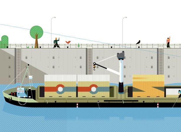 2020 Canal Ship