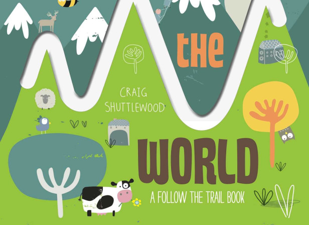 Follow the Trail Around the World Cover