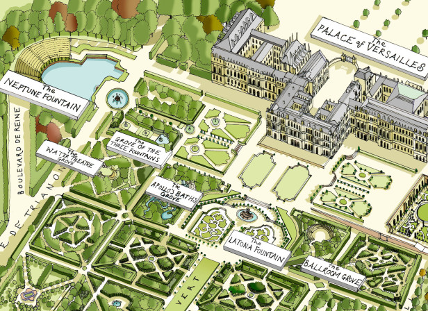 The Gardens Of Versailles / The Telpegraph