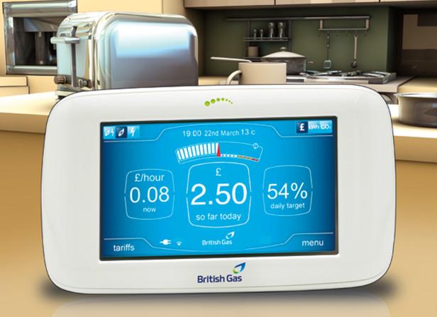 British Gas Smart Meter / The Telegraph
