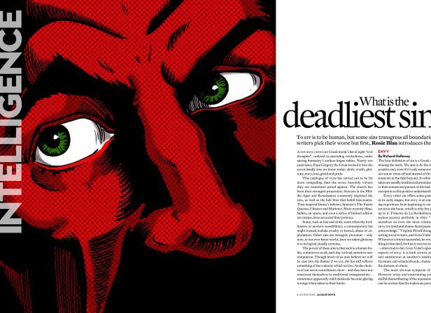 Intelligent Life Mag. / VII Deadly Sins. Envy