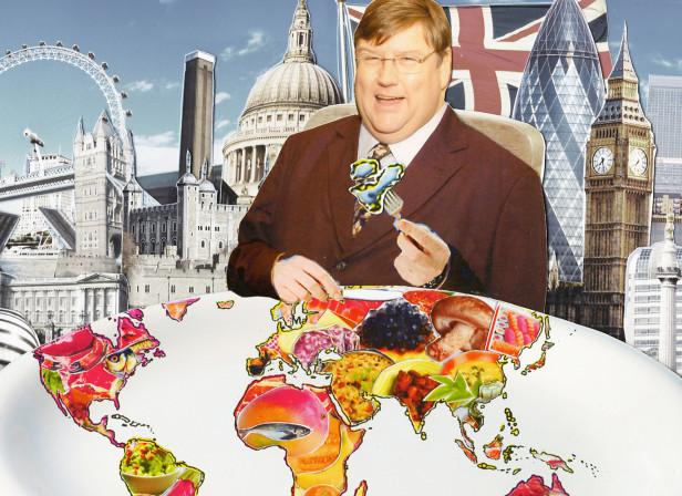 Charles Campion Eats World Food