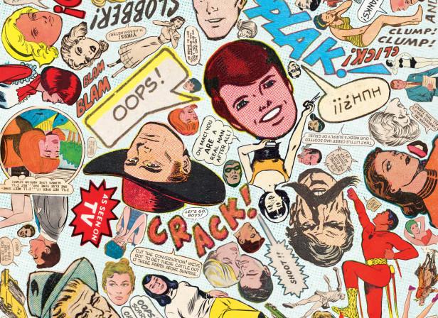 Comic Book Wallpaper Lichenstein
