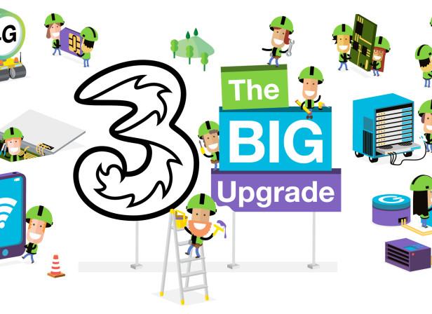 Three Mobile Ireland Upgrade 1