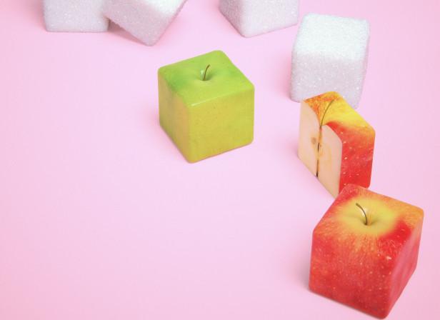 Apple and Sugar Cubes Mens Health Magazine