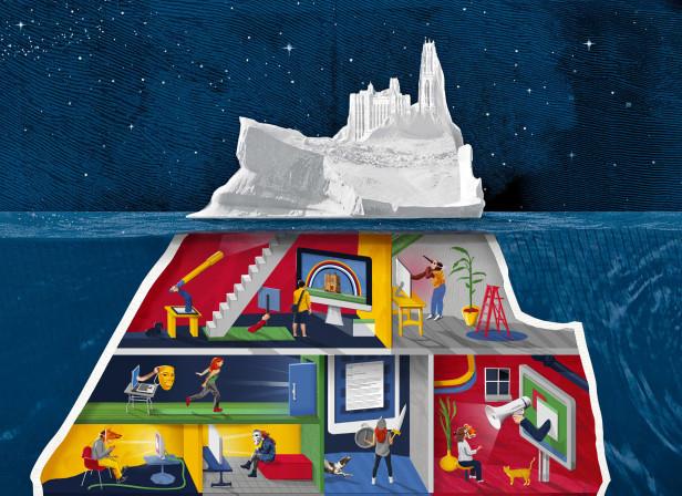 Iceberg Campuses / The Independent Magazine