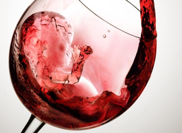 Wine Foetus / Midwives Magazine
