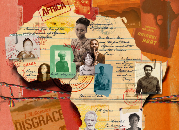 African Literature and Novilists Map Africa BA Highlife
