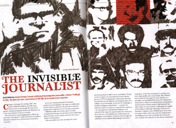 The Invisible Journalist