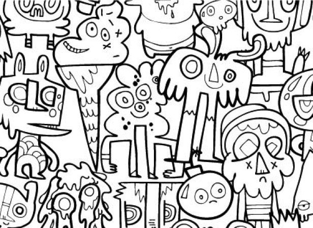 Colouring In Wrapping Paper