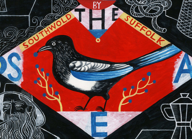 2 Magpies by The Sea