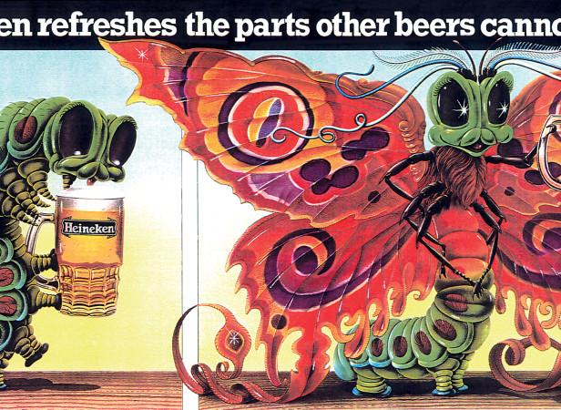 Heineken Butterfly