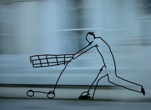 Man With Trolley Web Banner