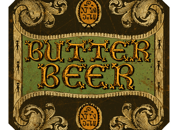 Harry Potter Butter Beer Logo + Label