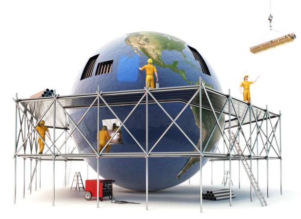 Scaffolding Earth