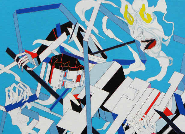Fight or Flight1 - acrylic on canvas - 91 x 61 cm.jpg