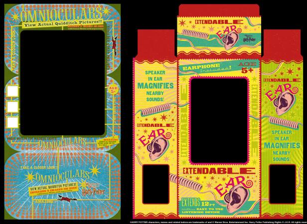 Universal Studios Orlando Harry Potter Packaging Designs 2