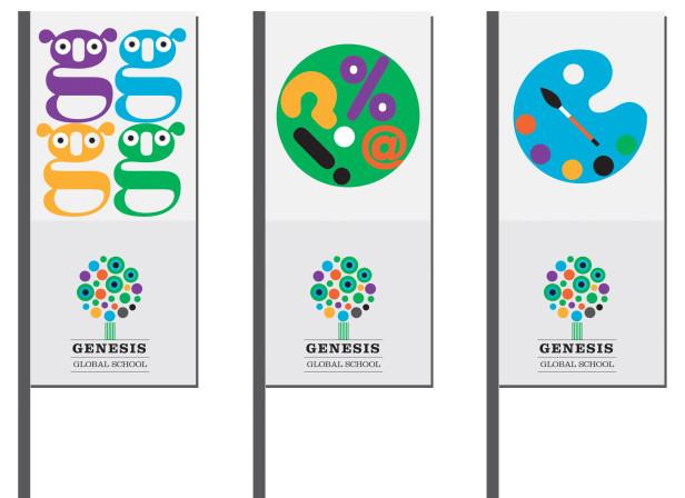 Genesis Global School Flags