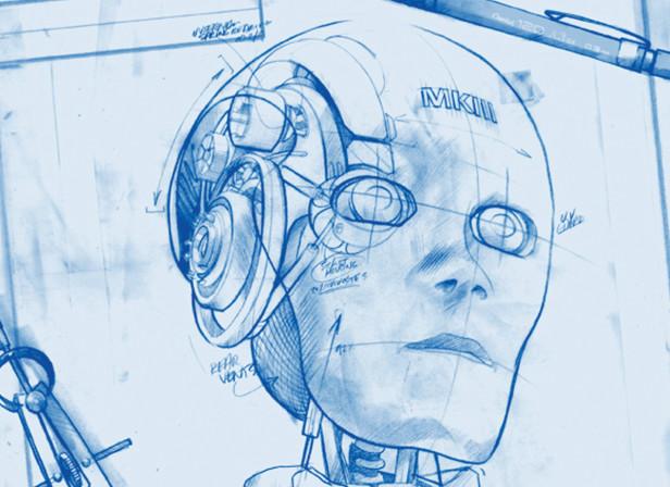 Ted Baker Robot Blueprint