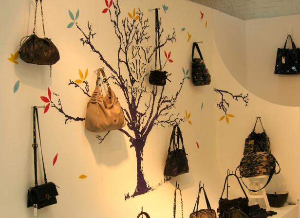 Autumn Ameko Bags Trade Show
