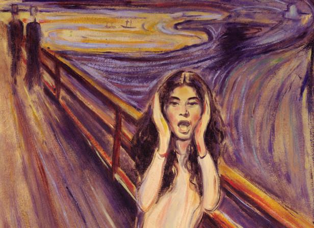 Yoko Ono The Scream