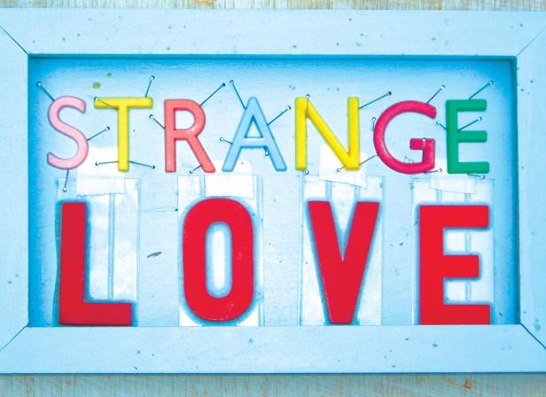 Strange Love 3D Lettering