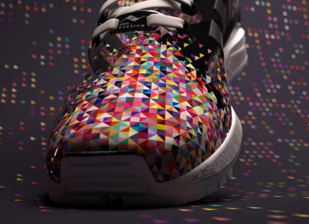 ZX Flux Pixels / Adidas