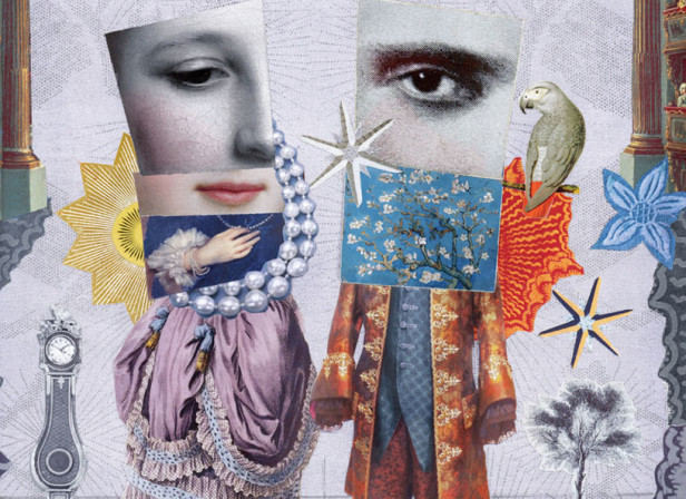 Martin_ONeill_Collage_illustration_Original_©_Artwork_Illustrator Book Cover Almond Parrot copy.jpg