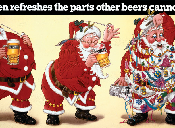 Heineken Santa