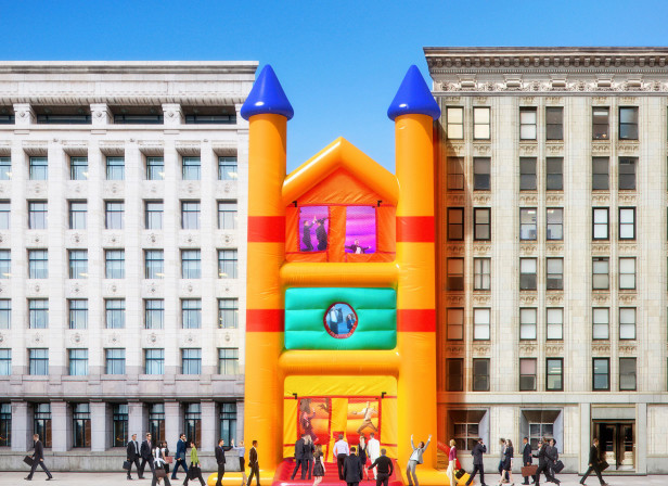 50 Great Fun Places to Work Cover / Washingtonian Magazine