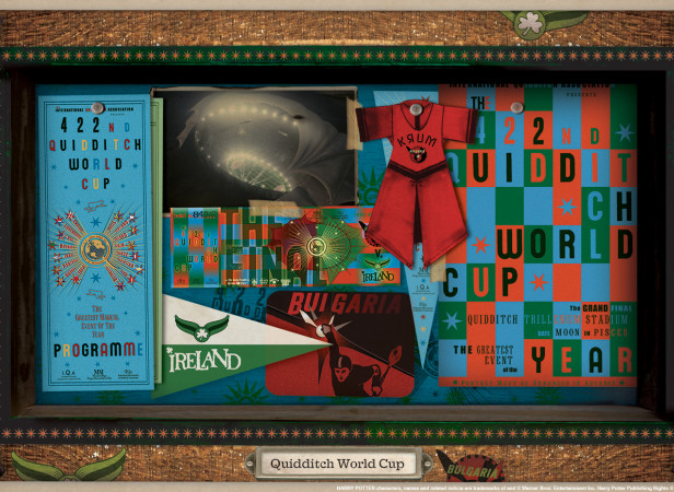 Harry Potter Quidditch World Cup Elements