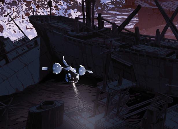 MONDO Oblivion Soundtrack Gatefold