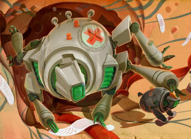 Nano Bots / New Scientist Magazine