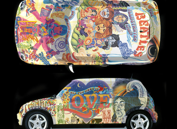 The Beatles BMW Mini