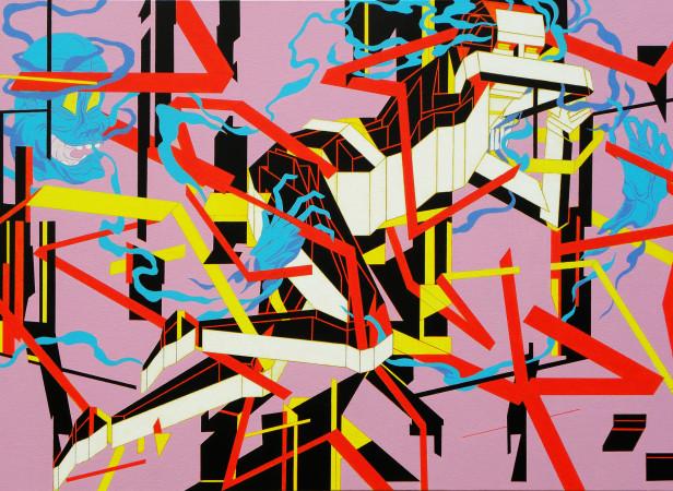 Fight or Flight2 - acrylic on canvas - 91 x 61 cm.jpg
