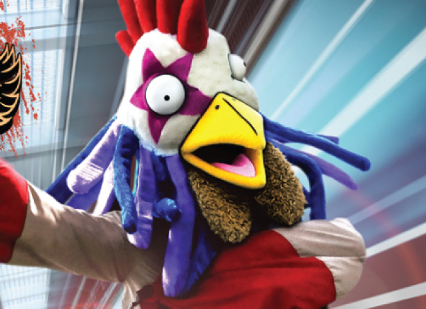 Doritos Feathered Fury Wrestler
