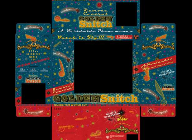 Universal Studios Orlando Harry Potter Golden Snitch Packaging