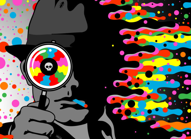 Blotter. A Film Noir... On Acid