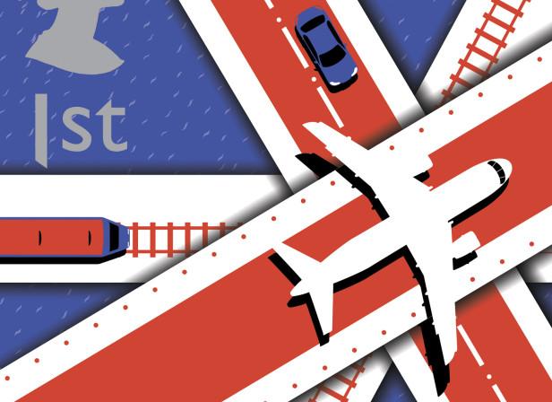 British Travel Stamp