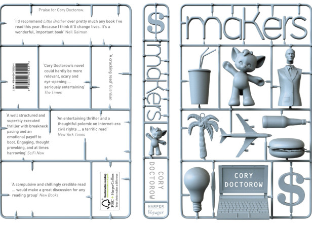 Makers - Cory Doctorow Cover