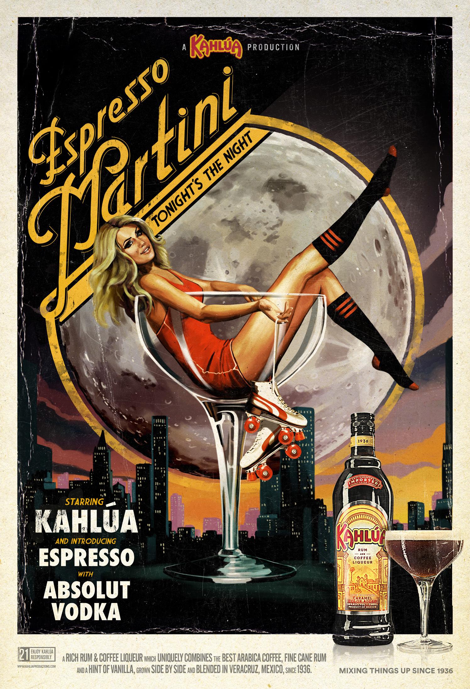 Espresso Martini / Kahlua