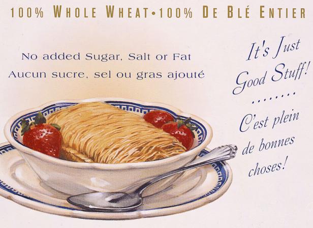 Vintage Shredded Wheat