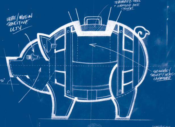 Ted Baker Piggy Blueprint