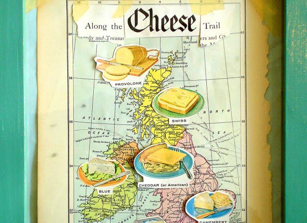 UK Cheese Map