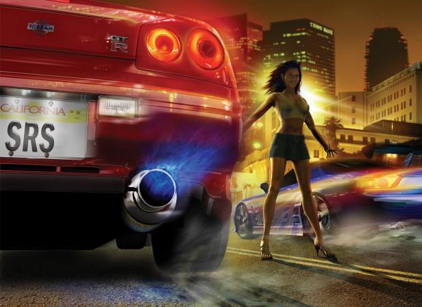 Street Racing Syndicate Videogame