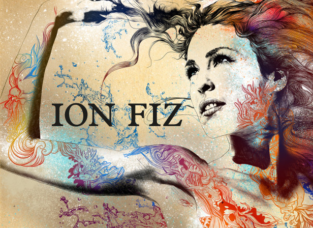 IonFiz Backdrop / Mercedes Benz Fashion Week
