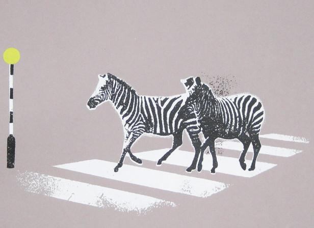 zebra_crossing_funny_humerous_zebras_screenprint_katie_edwards_illustration_art.jpg